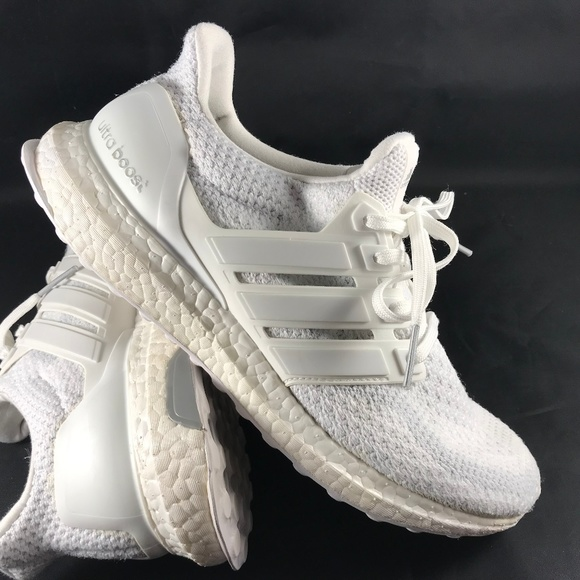 shades of outlet boutique pre order Adidas Ultra Boost 2.0 Triple White Womens 8 40 EU